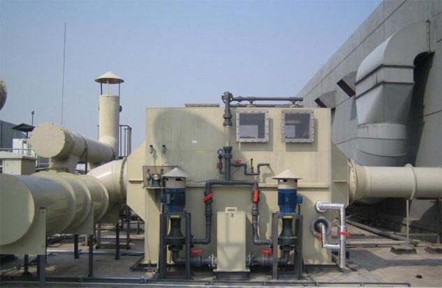 深圳宝安耐酸碱立式泵洗涤塔案例